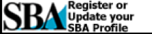Register or Update your SBA Profile